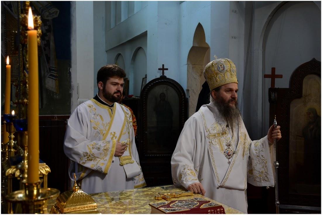 Епископ Андреј служио у цркви Светог Александра Невског