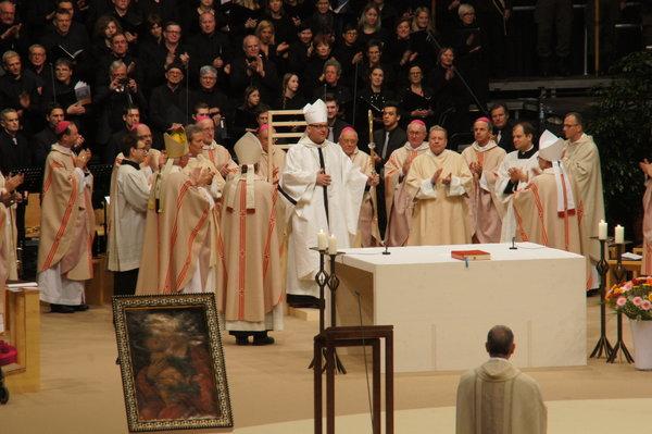Устоличење инсбрушког бискупа Хермана Глетлера