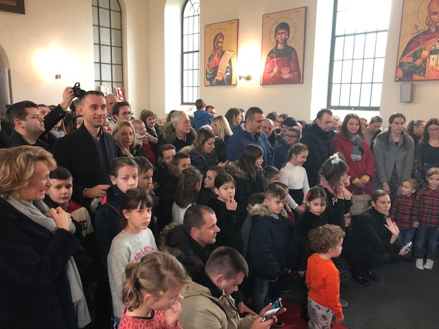 Свети Сава свечано прослављен у Женеви