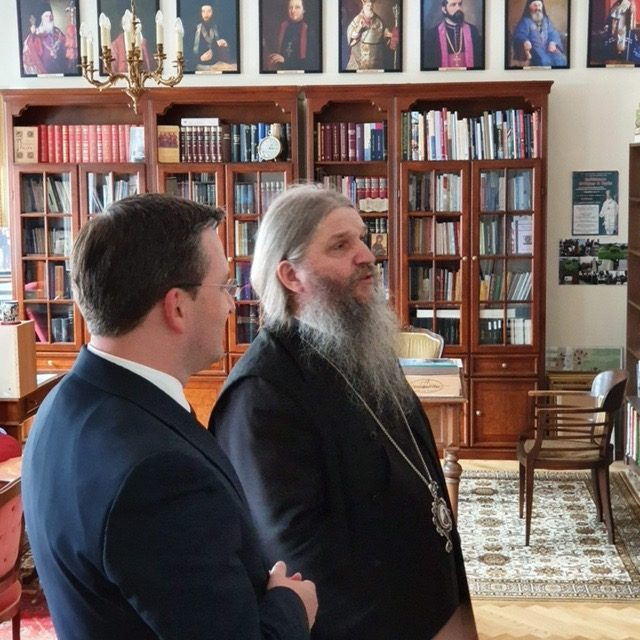 Министар иностраних послова Републике Србије у посети Епархији аустријско-швајцарској