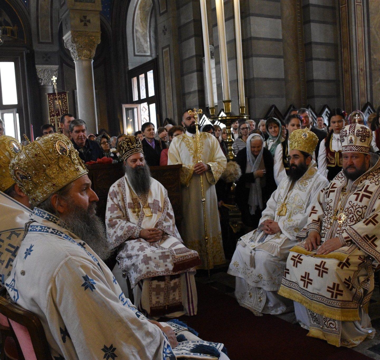 Велико освећење храма Светог Спиридона чудотворца у Трсту