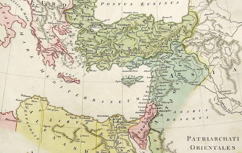Карта Епархије