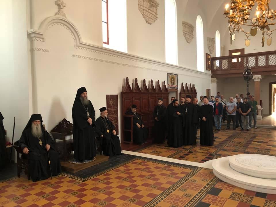 Навечерје празника Светих мученика јасеновачких