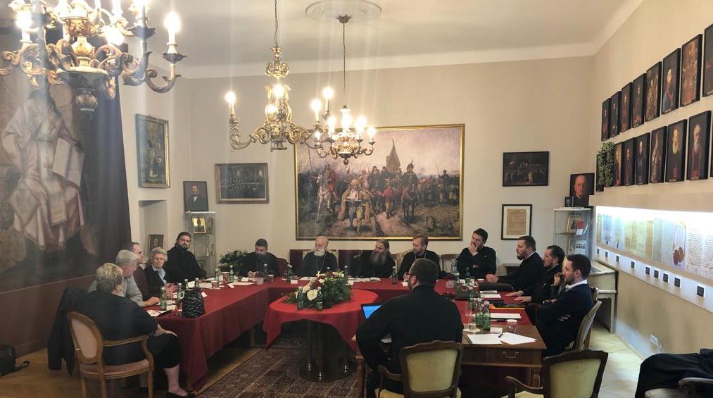 Седница Епархијског управног одбора у Бечу