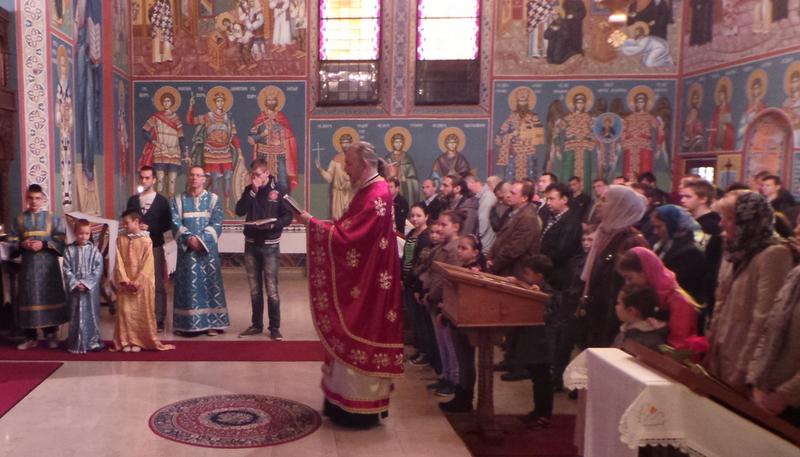 Призив Светога Духа на на ђаке и учитеље у Линцу