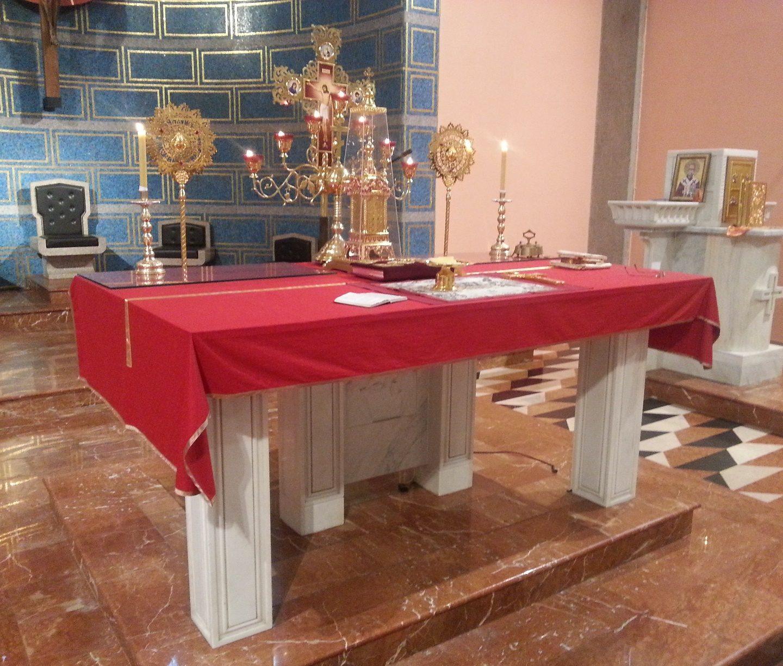 Вечерње, Предавање и Света литургија у Милану