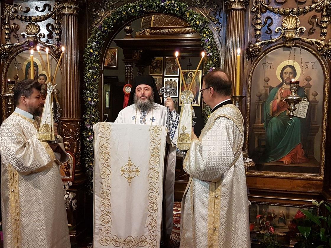 Епископ брегалнички Марко у Бечу