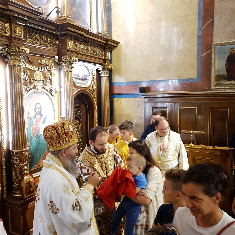 Недеља десета по Духовима у Саборном храму у Бечу