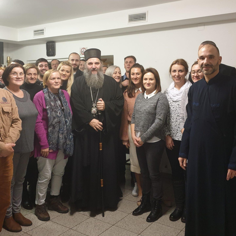Посета Епископа Андреја Енсу