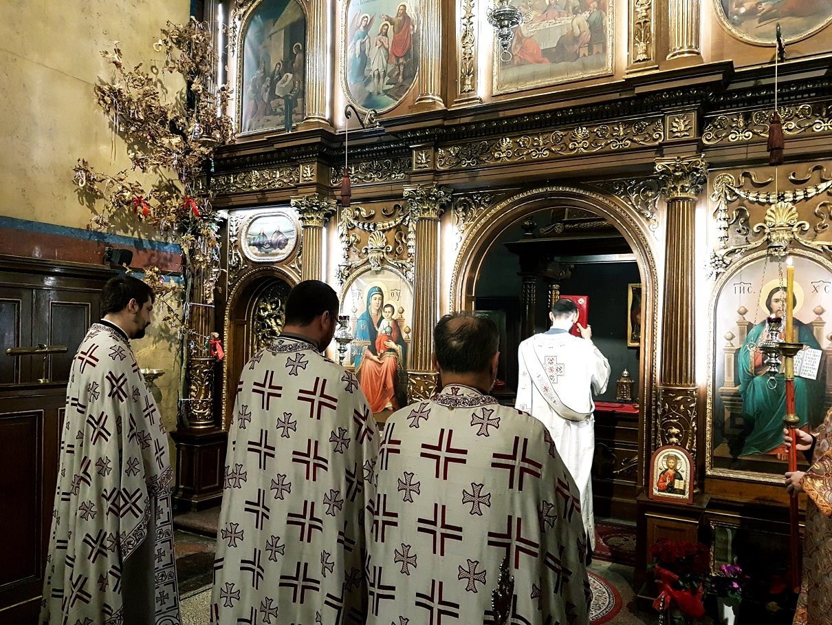 Празник Обрезања Господњег и спомен Светог Василија Великог у Саборном храму