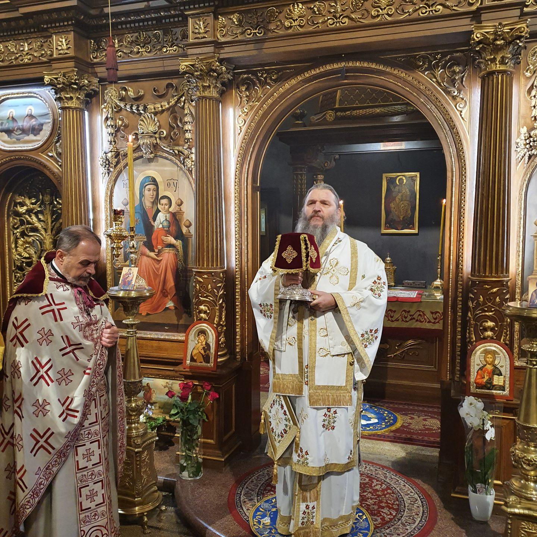 Göttliche Liturgie in der Wiener Kathedrale