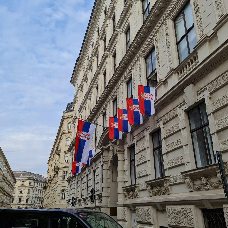 Пријем у Амбасади Републике Србије у Бечу