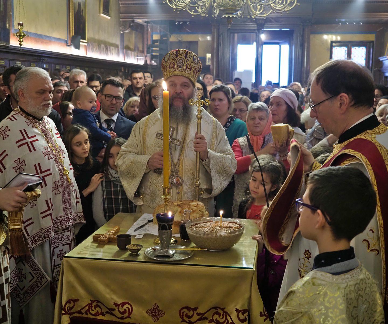 Торжествена прослава храмовне славе Саборне цркве у Бечу