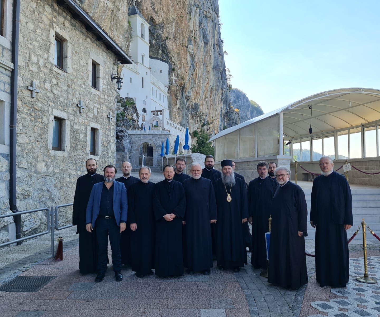 Delegation der Diözese Österreich-Schweiz bei der Inthronisierung des Metropoliten Joanikije- 2. Teil