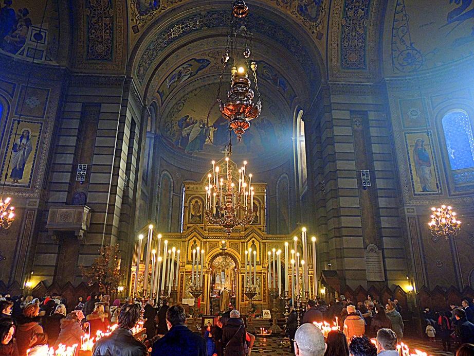 Божић свечано прослављен у Трсту