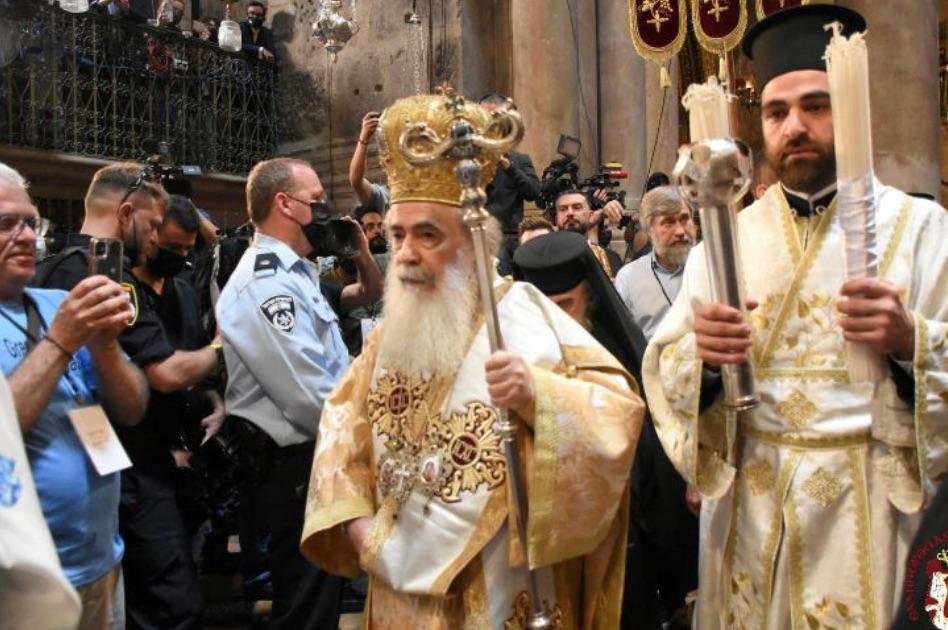 Чудесно јављање Благодатног огња у Јерусалиму