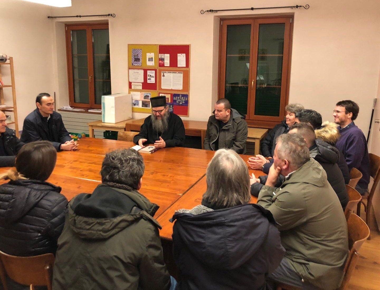 Предавање Епископа Андреја у Женеви