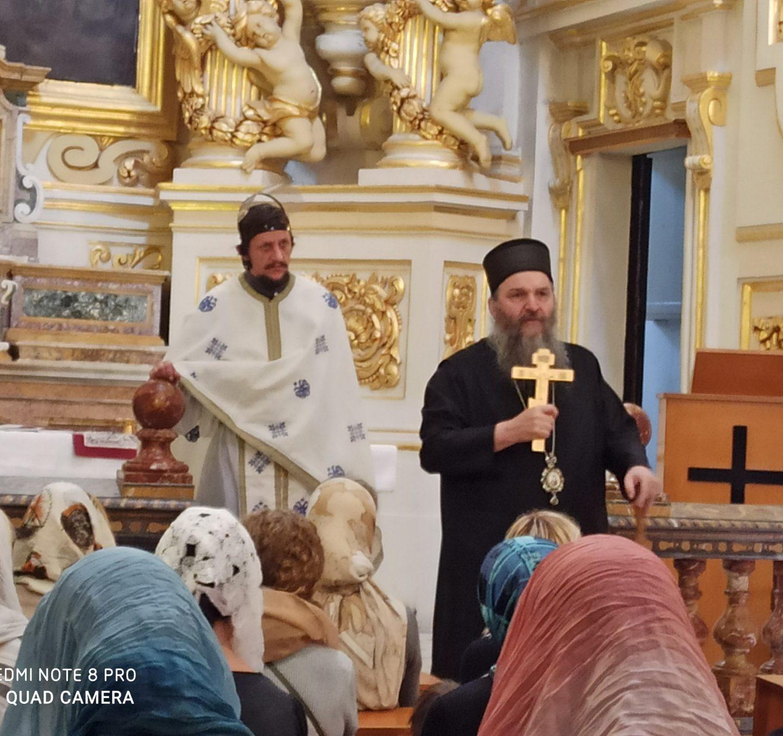 Архипастирска посета Епископа Андреја парохији и Црквеној општини на Малти
