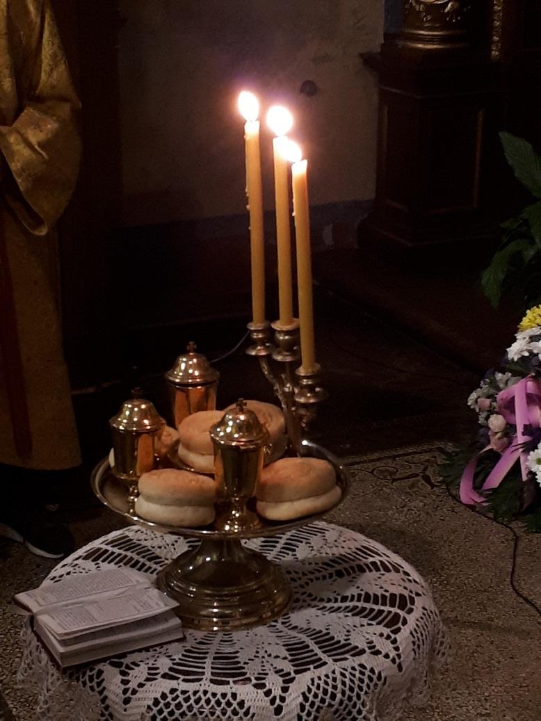 Вечерња служба у Саборном храму у Бечу