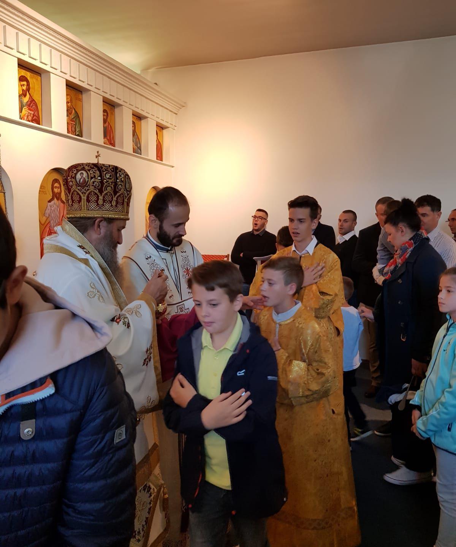 Архијерејска литургија у Винер Нојштату