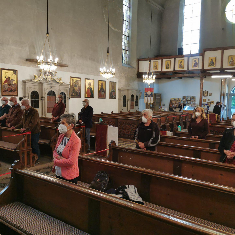 Интер-религиозна радна група у посети Српској православној Цркви у Браунау