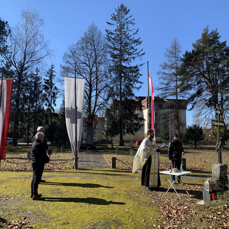 Света заупокојена Литургија у Браунау