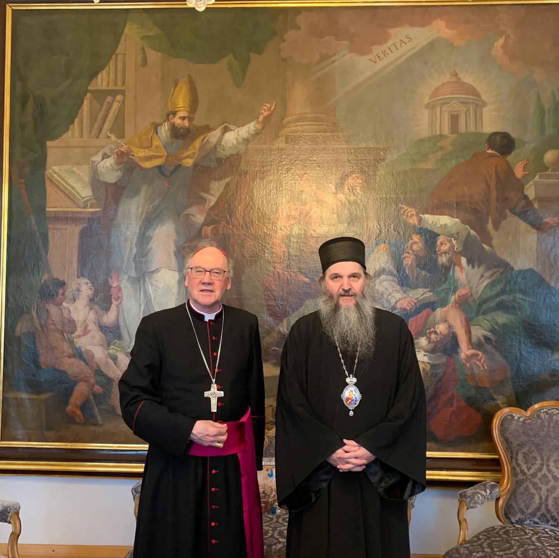 Епископ Андреј посетио бискупа Санкт Пелтена