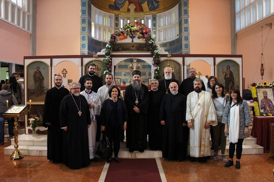 Прослава храмовне славе у Милану