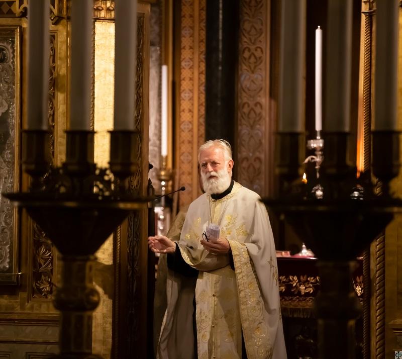 Свеправославна вечерња служба у Трсту