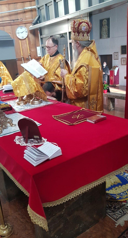 Епископ Андреј рукоположио ђакона Миладина у чин свештеника