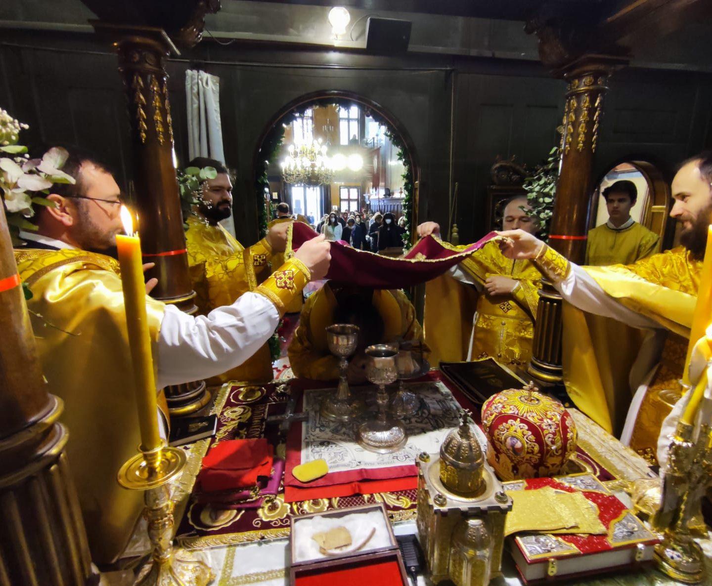 Трећи дан Васкрса у Саборном храму у Бечу