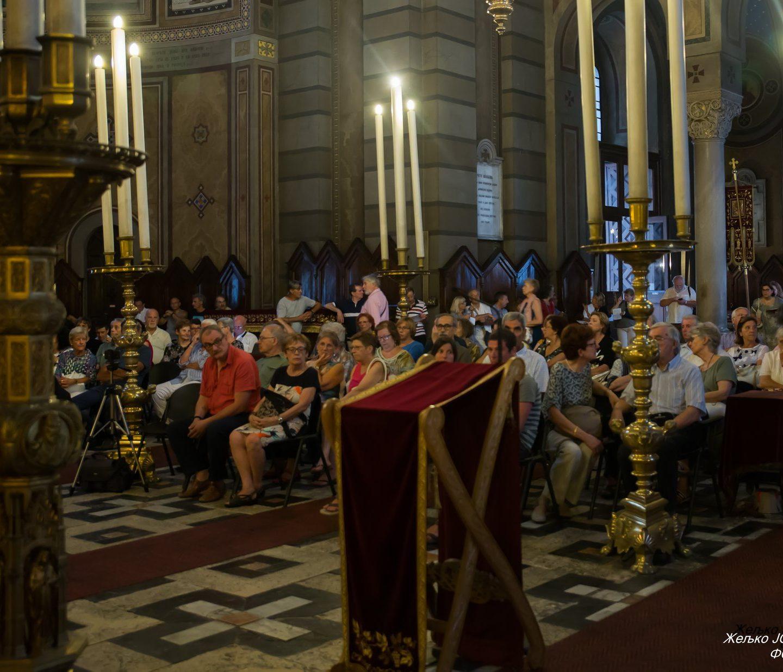 Концерт духовне музике у храму Св. Спиридона Чудотворца у Трсту