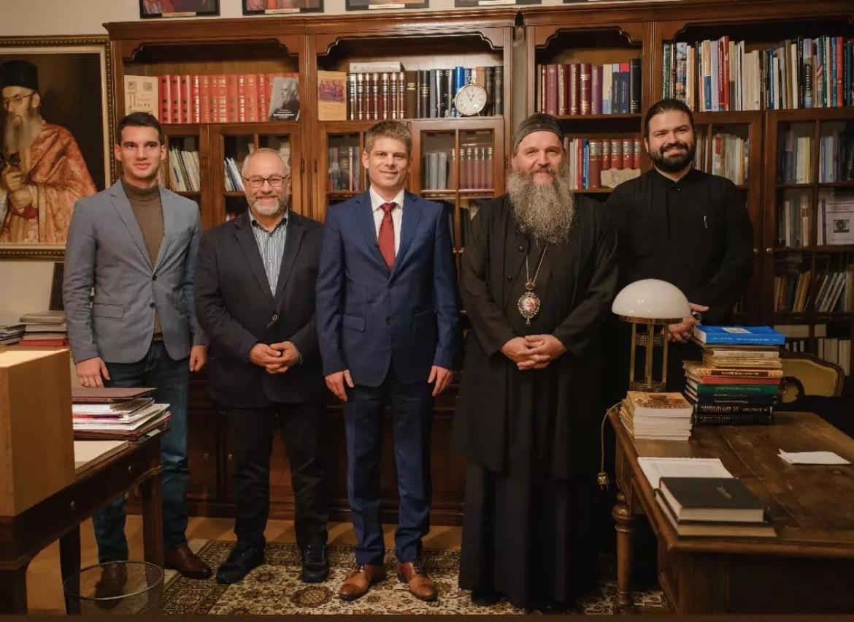 Сусрет Епископа Андреја и Арна Гујона