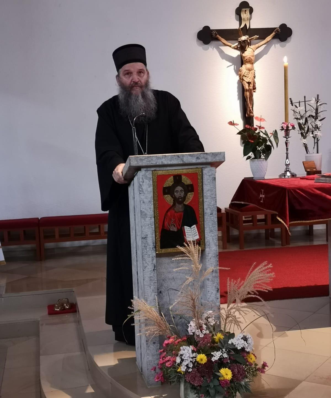 Подршка Епископа Андреја заједници у Гмундену