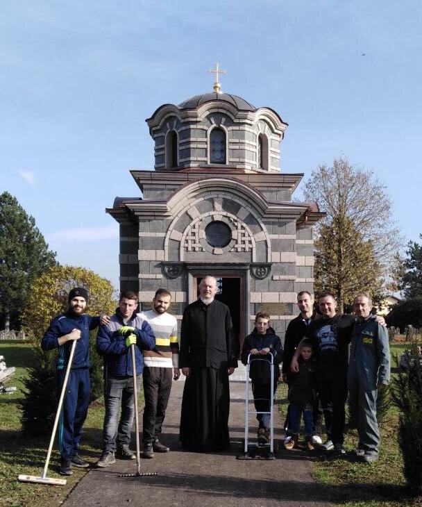 Завршни радови на Спомен капели у Маутхаузену