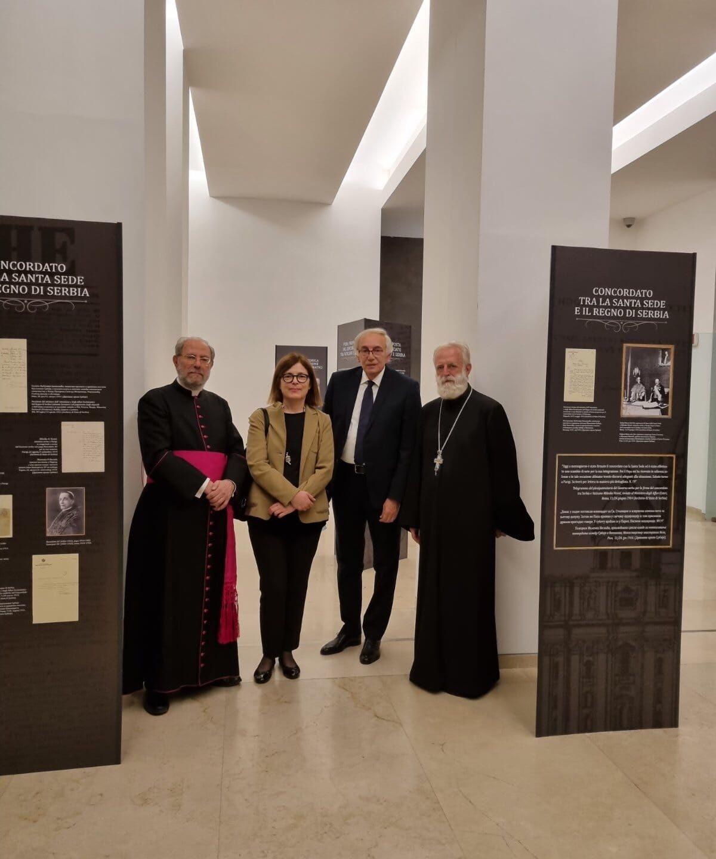 """Отворена изложба """"Србија и Ватикан"""" у Риму"""