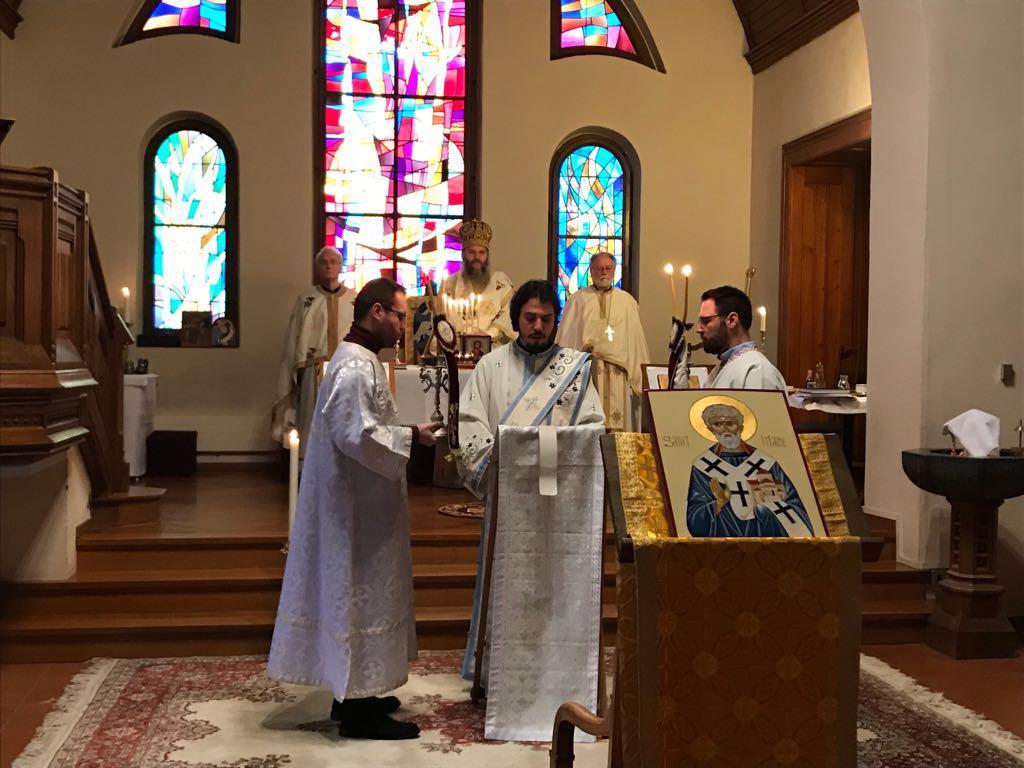 Посета Епископа Андреја франкофоној парохији у Лозани
