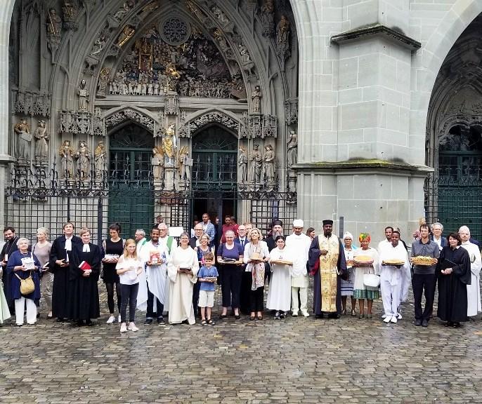 Посета Епископа Андреја Берну