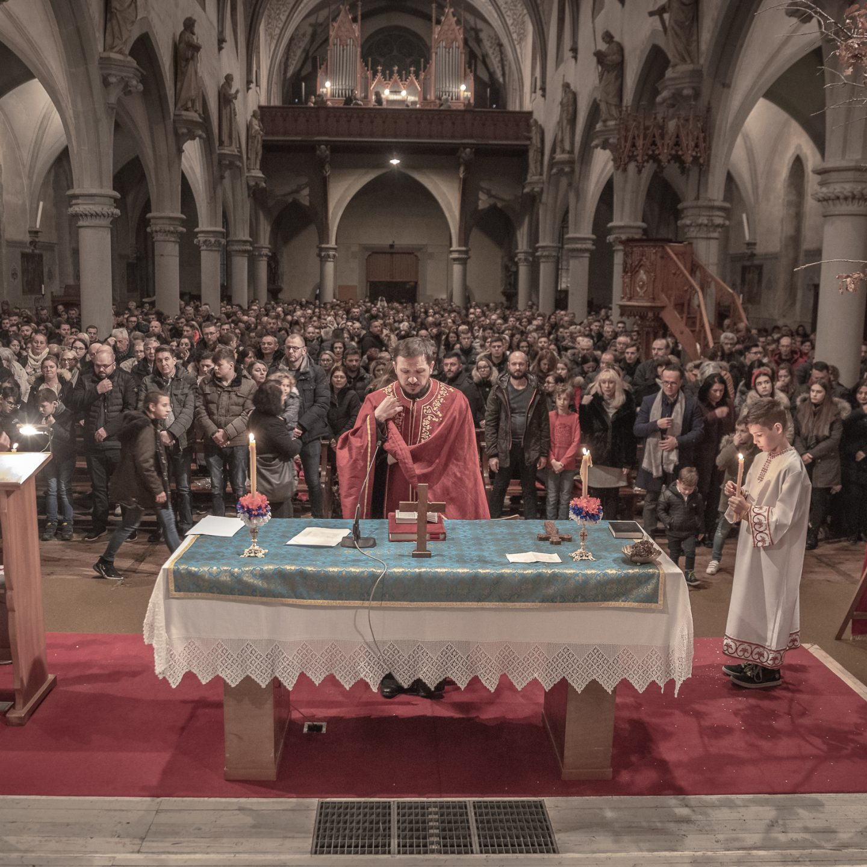 Божић у Санкт Галену и Мелсу