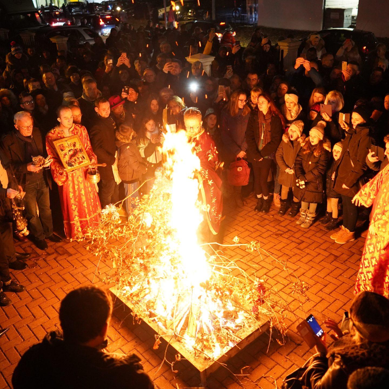 Прослава Божићних празника у Берну