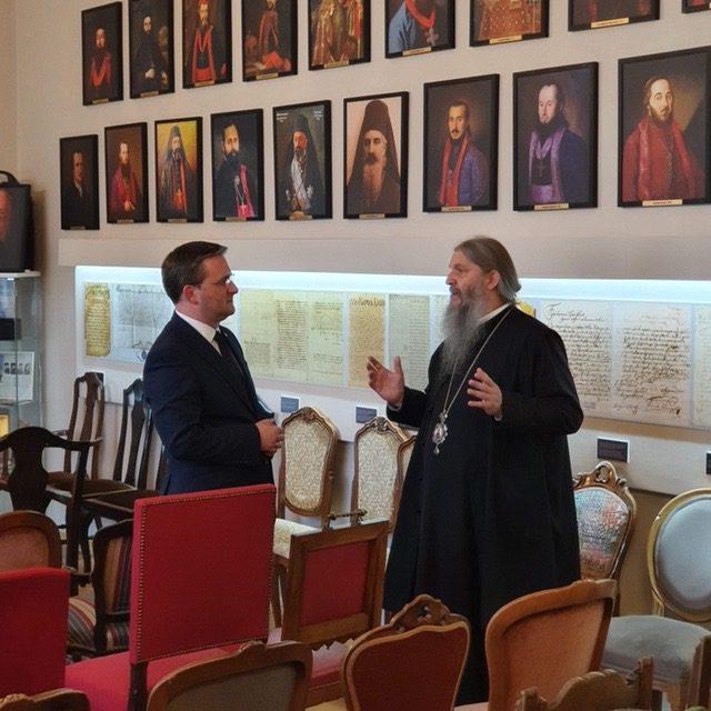 Außenminister von Serbien besucht  Diözese Österreich-Schweiz