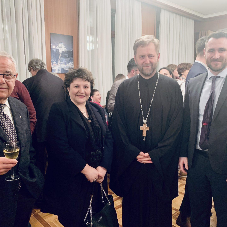 Сретење у Берну и пријем у Амбасади Републике Србије