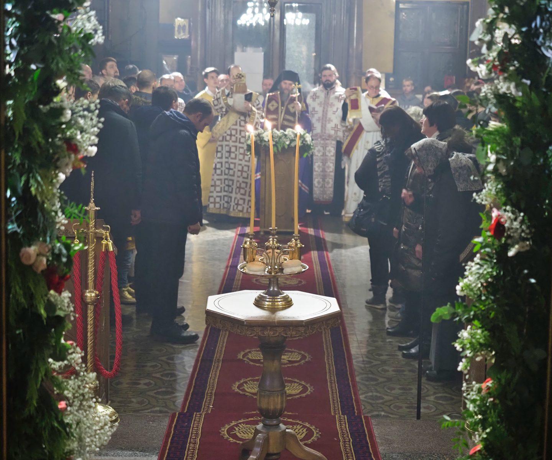 Навечерје Крсне славе Саборног храма у Бечу