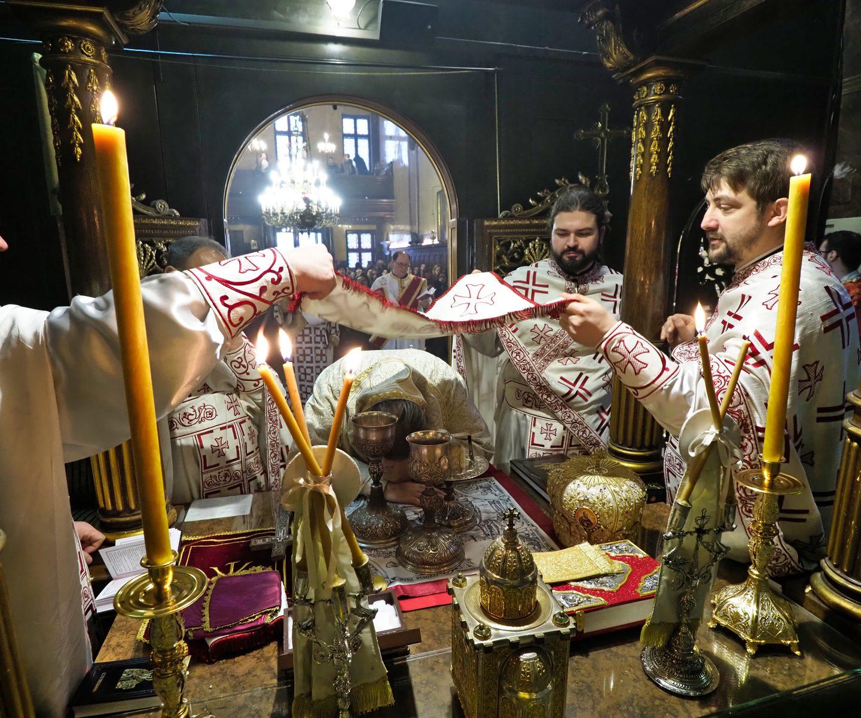Спомен Светог првомученика и архиђакона Стефана  у Саборном храму у Бечу