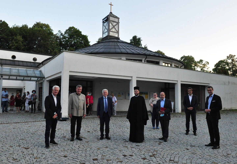 Делегација фондације Pro Oriente у Гмундену