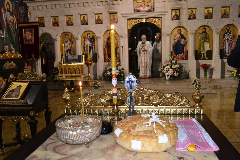 Слава Цркве Васкрсења Христовог у Бечу