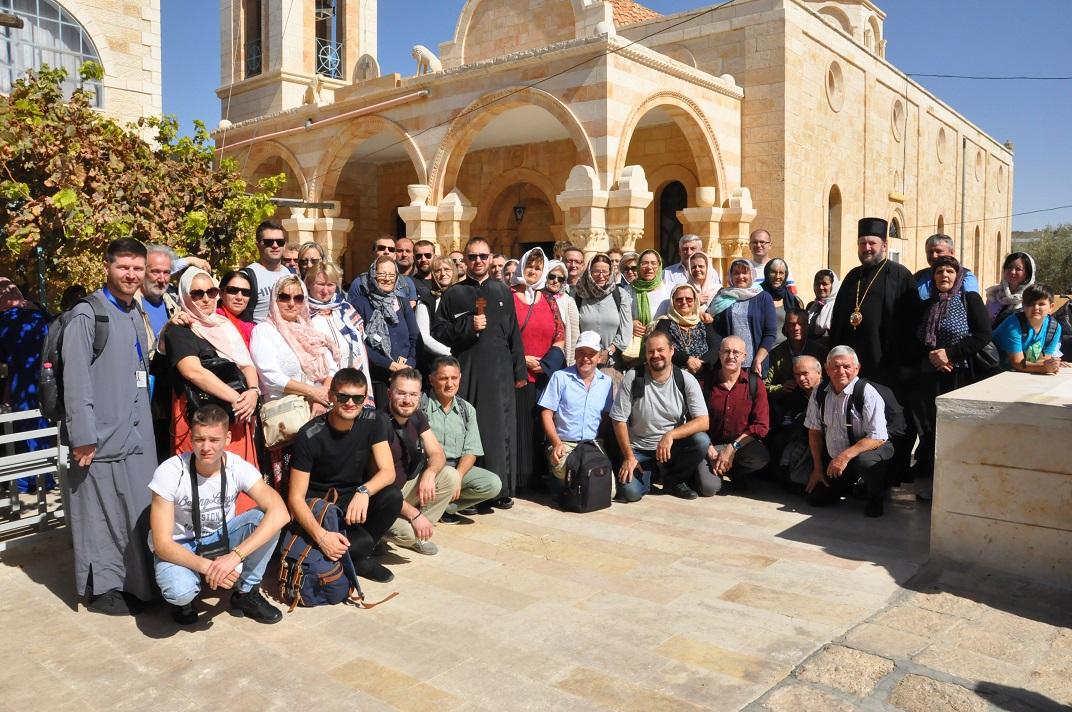 Поклоничко путовање у Свету Земљу групе верника из Фелдкирха