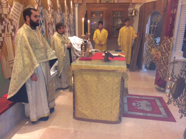 Задушнице и Михољдан у Светоуспењском храму у Цириху