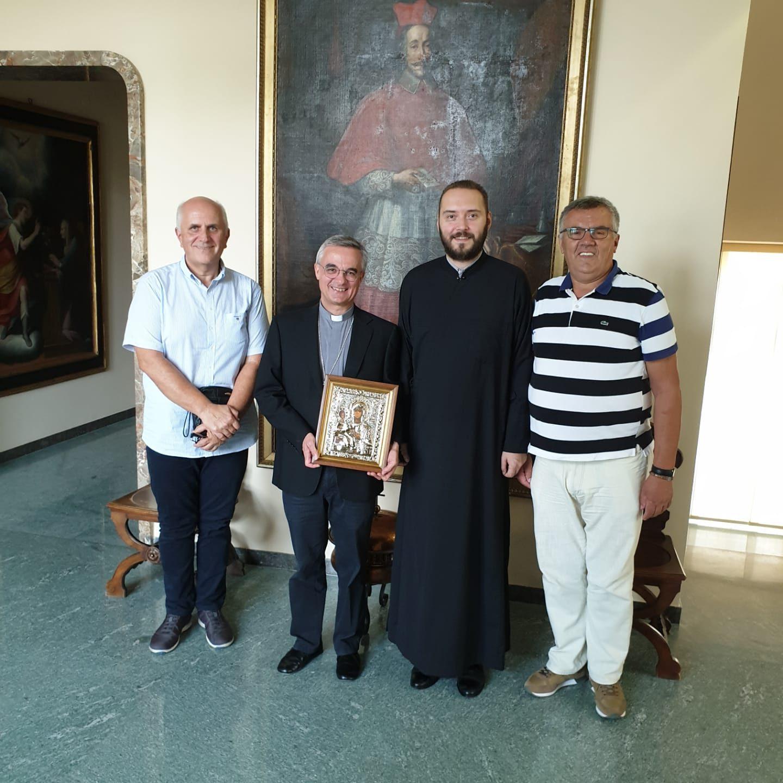 Посета делегације ЦО Тићино Луганској бискупији