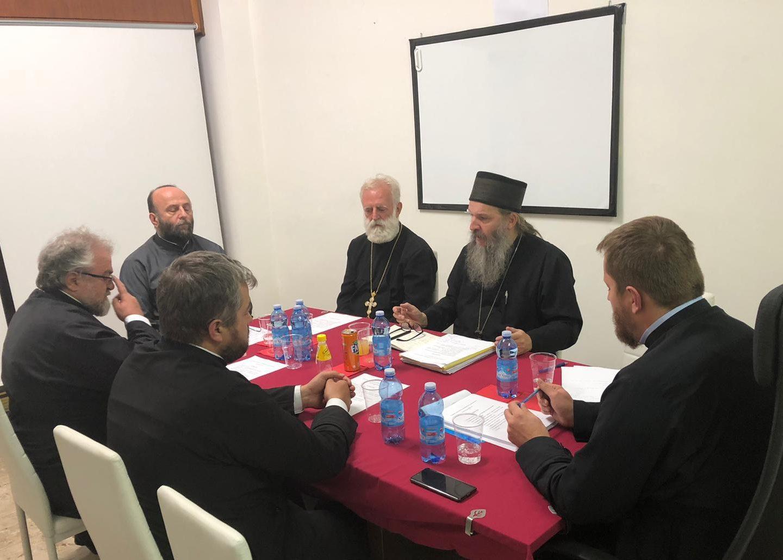 Седница Архијерејског намесништва за Италију и Малту